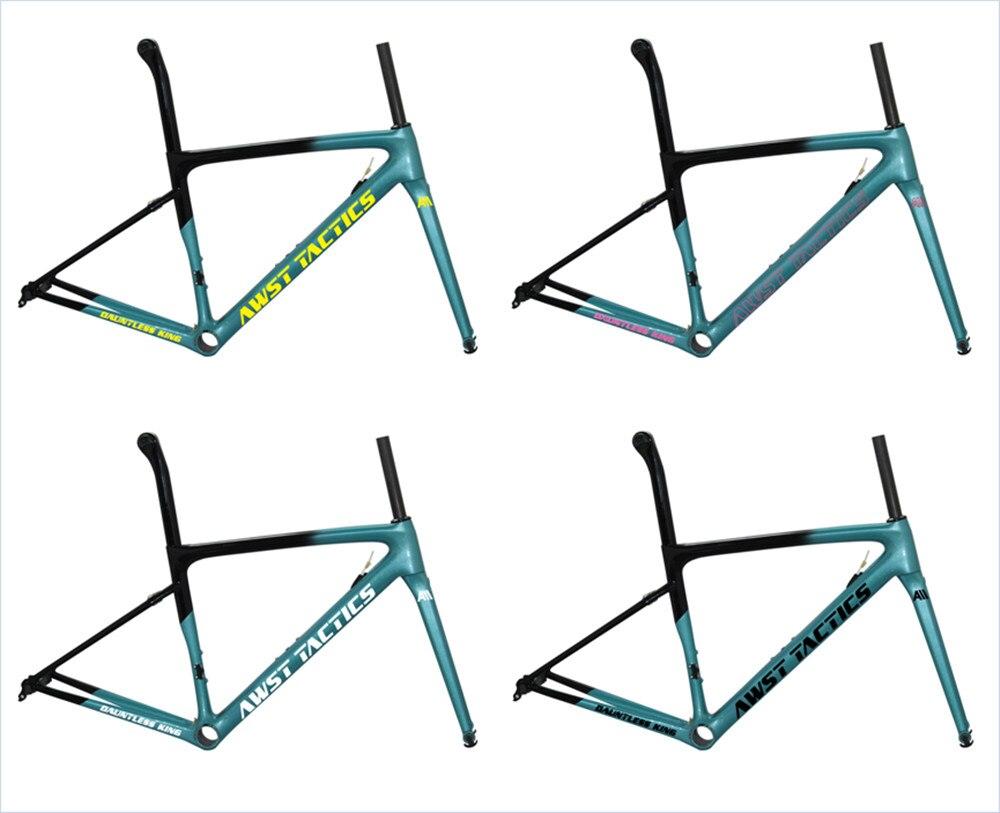 Taiwan OEM Max Pneu 700 * 25C Aero Carbone Fibre Vélo De Route Cadre de Gravier Cyclocross cadres de carbone route vélo de course vélo roues