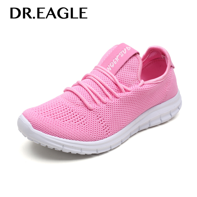 timeless design 966d8 c5561 EAGLE Sneakers running shoes women s red pink black mesh summer sport basket  femme sneaker gym shoes women