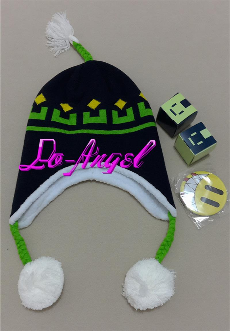 Hot Anime DMMD Dramatical Murder Noiz Knitted Hat Cosplay Anime Crochet Cap Warm Beanie Free Shipping [expensive] supply truck rather tight rope tensioner tied up with tight rope tied with wholesale
