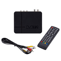New Signal Receiver of TV Fully for DVB T Digital Terrestrial Receiver DVB T2 / H.264 Timer Supports for Dolby