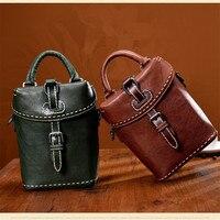 La MaxZa кожа небольшая сумка новые женские ретро сумки ручной работы из коровьей кожи сумки женские винтажные кошелек