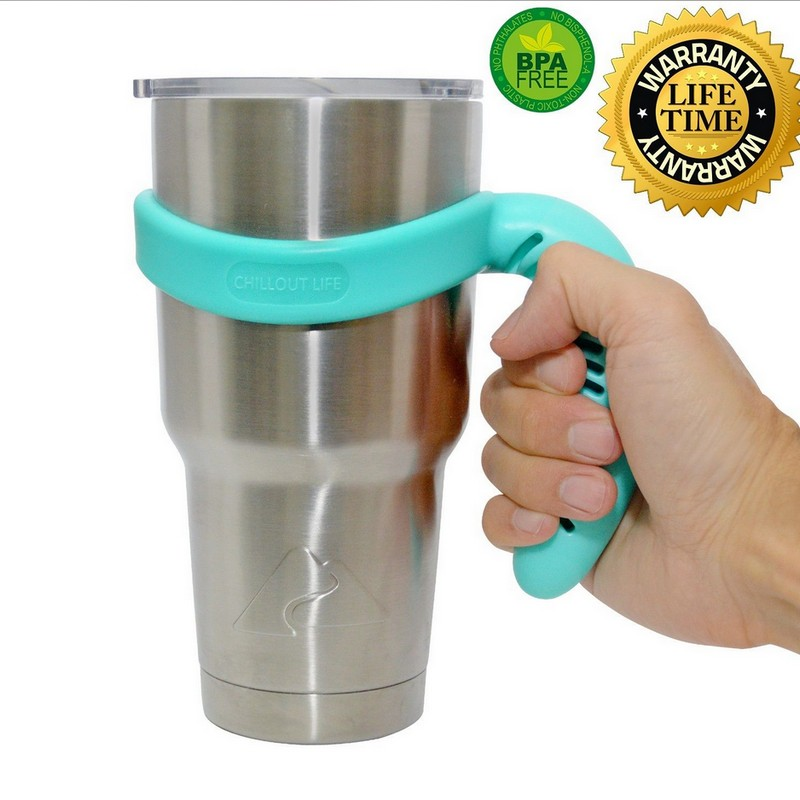 Handle for <font><b>YETI</b></font> <font><b>Rambler</b></font> Tumbler <font><b>30</b></font> <font><b>oz</b></font> Ozark Trail <font><b>Cup</b></font> Holder RTIC SIC Portable Hand Holder Free shipping