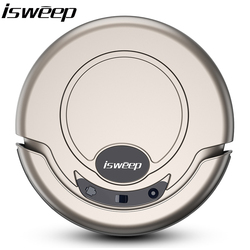 2017 New arrival Ultra Thin Intelligent Vacuum Cleaner Sweep Floor Robot Vacuum Cleaner with Strong Suction Super Quiet Design