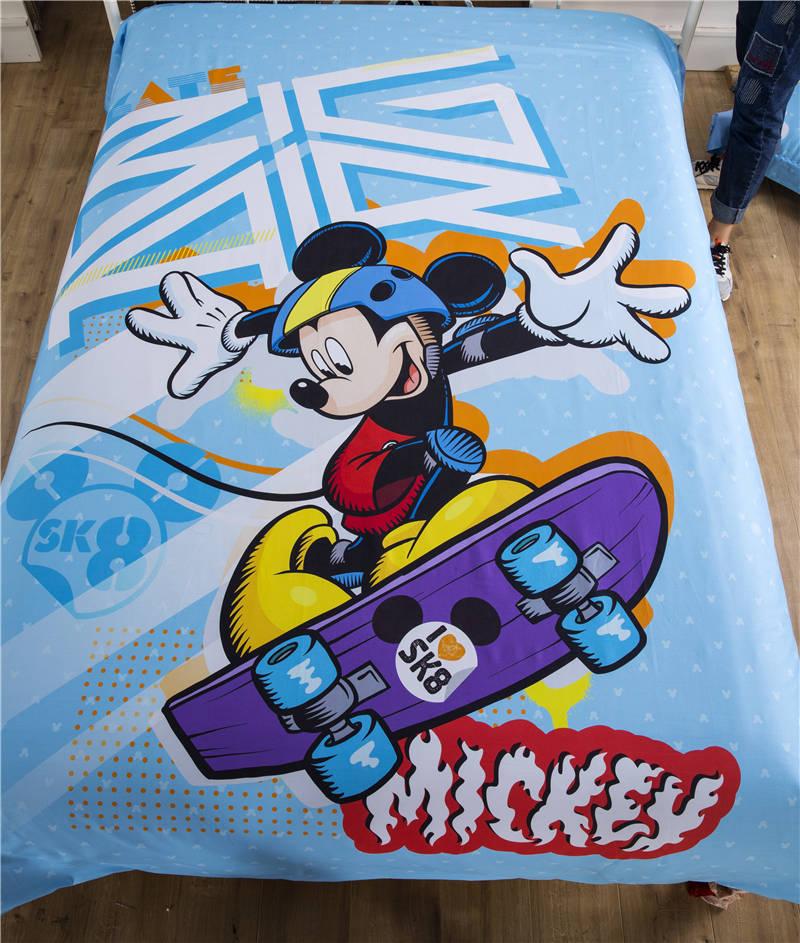 웃 유Mickey Mouse juego de cama para niño de Decoración Luz Azul ...