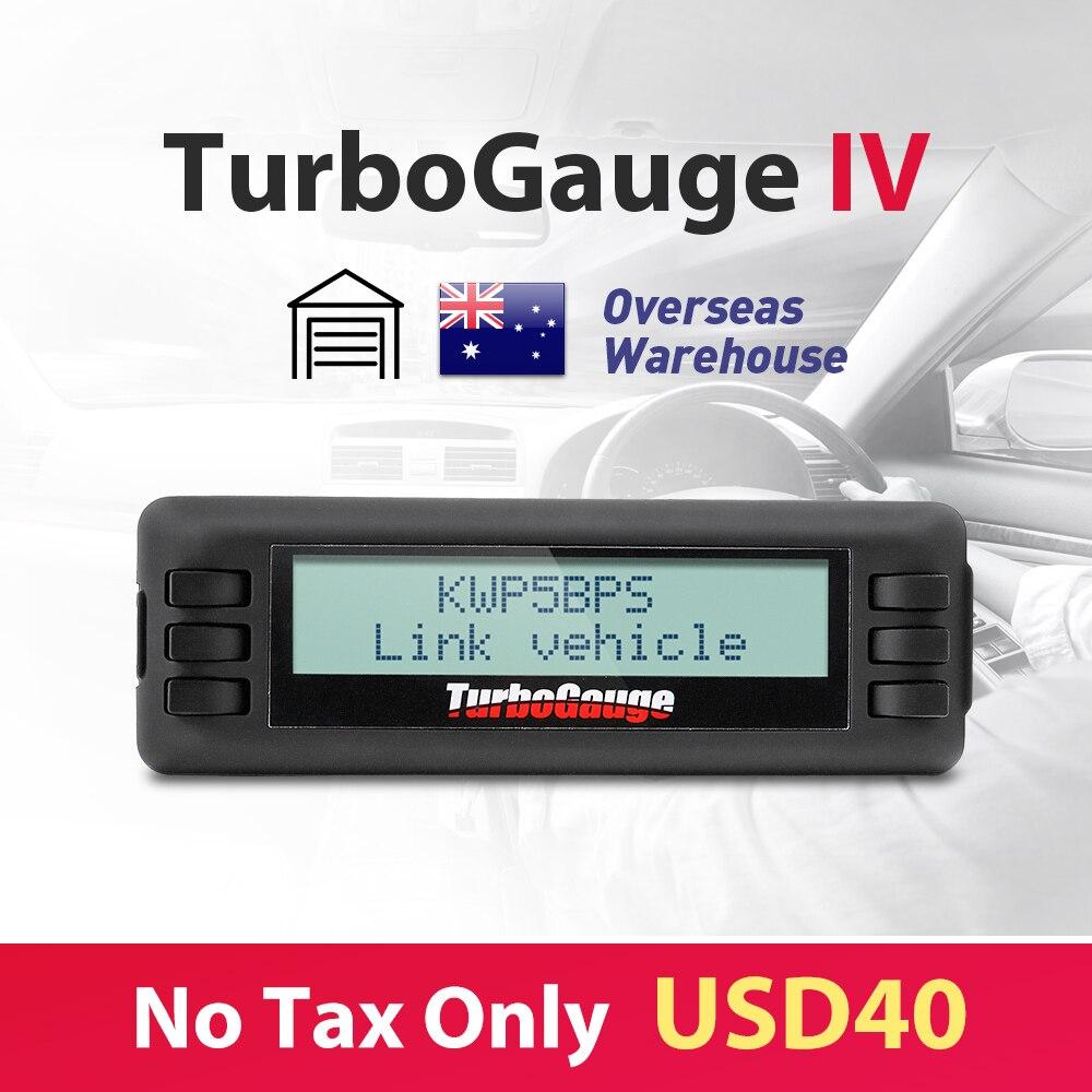 Promotion Now Turbogauge IV 4 in 1 Vehicle Computer OBDII EOBD car trip computer Digital Gauges