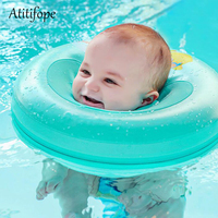 Baby swim neck ring neck protect ring safe swimming product for baby learn to swim summer water play rings