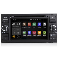 7 Inch Quad Core Android 7.1 PC Car DVD GPS Radio For Ford Transit Fiesta Galaxy Fusion C MAX S MAX Focus Kuga Mondeo 2006 2007