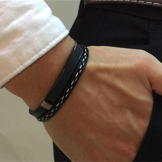 Multilayer Bracelet Mens...