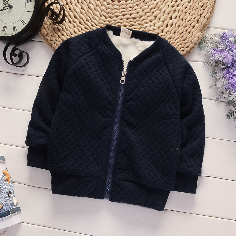 2018 New Children Winter Outerwear Baby Boys Girls Warm Jackets Cotton-padded Plus Velvet Autumn Thickening Snowsuit Coat casio ltp v002sg 9a