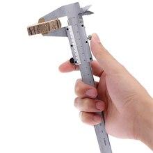 Acero al carbono Escalas Vernier Caliper 150mm diámetro profundidad Herramienta de diagnóstico-Espectáculo herramienta Pinzas paquimetro galga de Medición