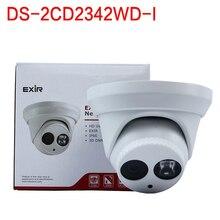 Бесплатная доставка на складе Английская версия DS-2CD2342WD-I, 4MP WDR EXIR Башни СЕТЕВАЯ Камера