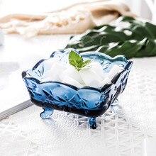 Cocostyles InsFashion высококлассное голубое Фигурное стекло для хранения ювелирных изделий и сажи, бутылка для современного Роскошный домашний декор