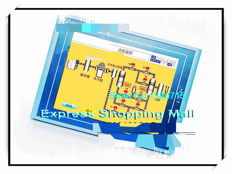 SA-12.1A Samkoon Touch Screen 12.1 inch HMI new programming cable RS232+RS485+USB 1 Year Warranty