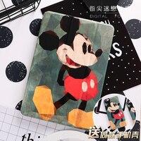 Personal Mouse Painted Mini4 Mini2 Mini3 Flip Cover For IPad Pro 9 7 Air Air2 Mini