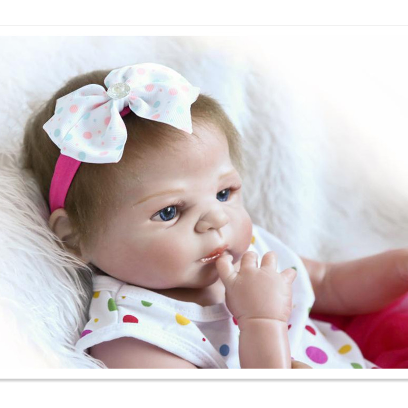 53 CM Realistic Reborn Baby Full Silicone Newborn Baby Toys for Children,21 Inch Real Reborn Dolls Babies Bonecas with Clothes 20 real reborn babies bonecas newborn baby dolls with clothes lovely reborn silicone baby dolls educational toys for children