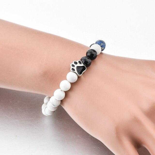 Модный браслет chicvie тигровый глаз из натурального камня браслеты