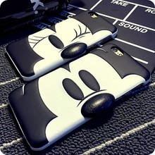 New Arrival 3D Cute Mouse Case Cover For Apple iPhone 6 Case Cartoon 6 Series Plastic Hard Original Case For Phone