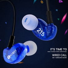 TN2 Wired Earbuds Headphones 3.5mm In Ear Earphone Earpiece With Mic Stereo Headset 4 Color For Samsung Xiaomi Phone Computer все цены