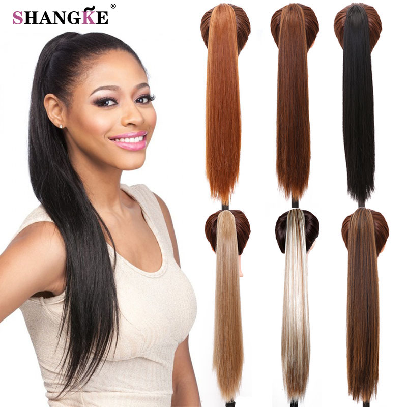 """cheap 24"""" synthetic long straight"""
