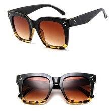 LeonLion 2019 Fashion Square okulary przeciwsłoneczne