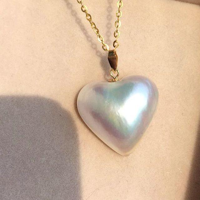 1e30d6a05788 Mujeres palabra Regalo 925 plata Esterlina real de Importación perla mabe  mabe mabe natural del amor