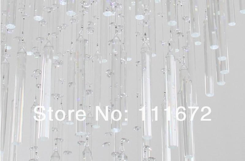ᐂnieuwe ontwerp eigentijdse kroonluchters moderne crystal led trap