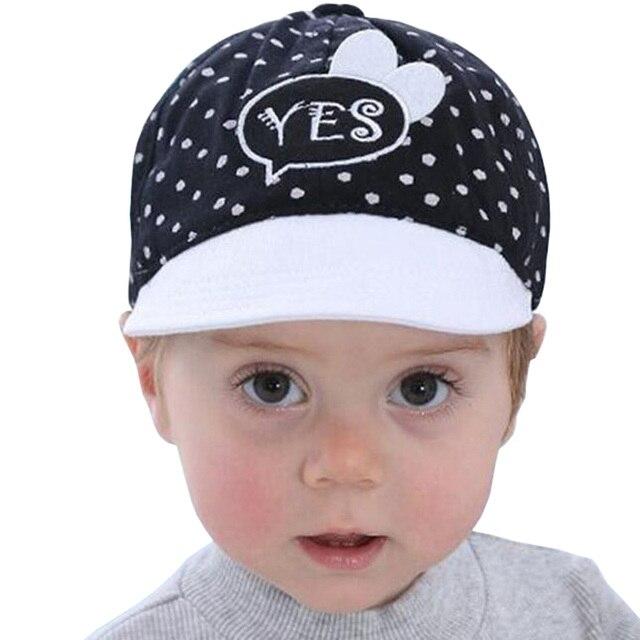 c53598551ebb Cute Baby Hat Kids Baseball Cap Newborn Boy Girl Beanies Soft Cotton ...