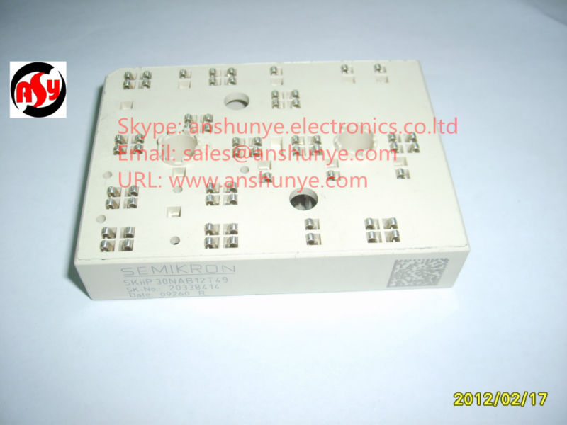 MODULE SKiiP30NAB12T49 skiip 13nab066v1 7 cell ipm power module