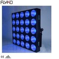 Free shipping 25*10W 3 in 1 (RGB) LED Matrix Light 5x5 25pcs led matrix light