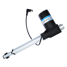 High Power 24V DC Linear Actuator 4000N/407kg 200mm Force Low Noise Electric Piston 6000N 4000N 2000N