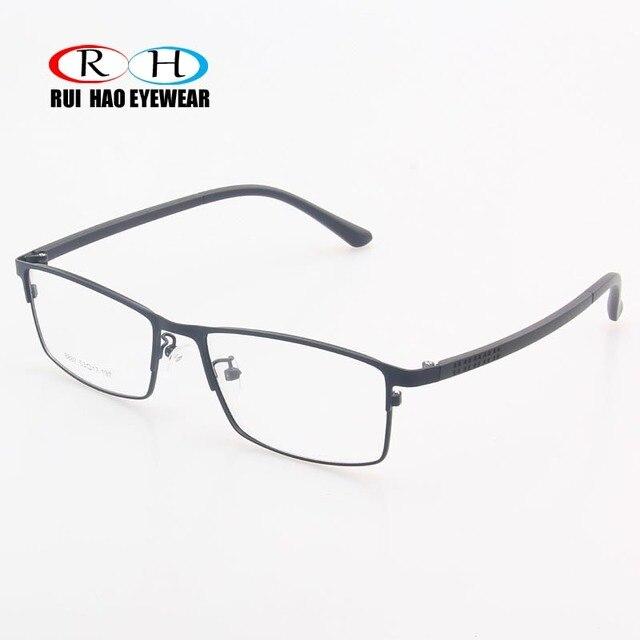 6a27d61854 Rui Hao Eyewear Brand Eyeglasses Frame Stainless Steel Eyewear Optical  Prescription Glasses Frame Rectangular Spectacles Frame
