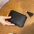 Cute Tassel Girls mini Coin Purses NEW Fashion Alligator Women Small Clutch Bag Female Card Holders petite sac Phone Bag