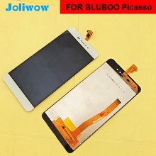 FOR BLUBOO Picasso 4g LCD Display +Touch Screen 100% Original Digitizer Assembly Replacement Accessories For Phone 5.0