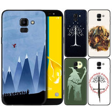 Silicone Case For Samsung Galaxy J4 J6 A6 A8 Plus A7 A9 J8 2018 A5 2017 Soft Cover Shell The Lord of Rings Hobbit(China)