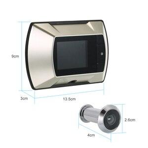 Image 3 - Беспроводной дверной глазок с ЖК экраном 2,4 дюйма TFT, цифровой электрический дверной глазок