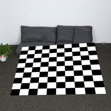 Super Soft Cozy Black and White Plaid and Peacock Feather Throw Blanket Cute Background Sherpa Blanket for Couch Throw Travel