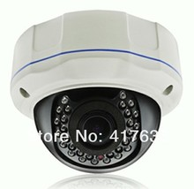 Free shipping 2.0 Megapixel IP Dome camera supports phone view Varifocal waterproof ir IP camera indoor/outdoor IP dome