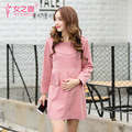 Maternity And 2016 New Women Dress In The Long Tassel Relaxed Dress Code Coat Of Pregnant Women In Pregnant Women