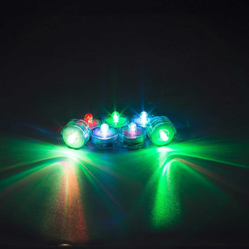 Xsky بطارية الطاقة ليلة ضوء مفتاح دوار التحكم LED ضوء شمعة غاطسة مصباح مقاوم للماء ل زجاجة حفل زفاف ديكور