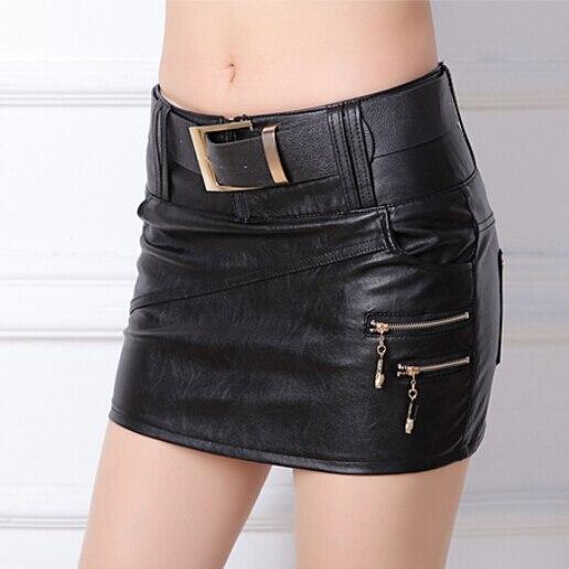 Aliexpress.com : Buy STKKOO Sexy Women Bodycon Skirt PU Leather ...