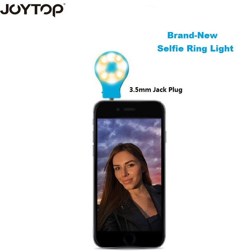JOYTOP New Selfie Ring Light Portable Flash Led Camera Phone Photography for phone Selfie ring light video light Night Enhancing