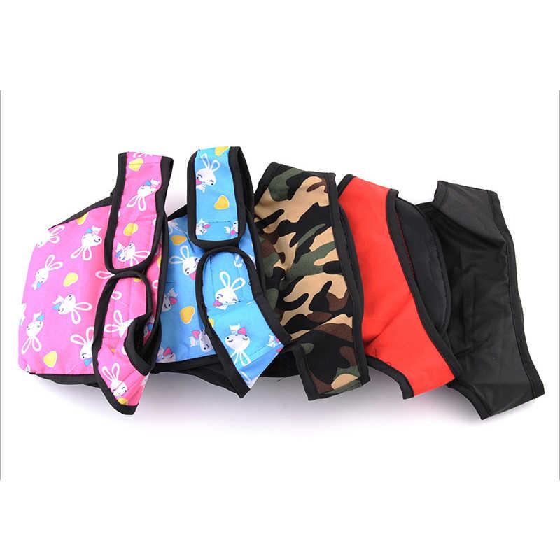 Собака физиологические брюки s-xl гигиеническая салфетка моющиеся женские шорты для собак трусики менструации нижнее белье трусы комбинезон для собаки