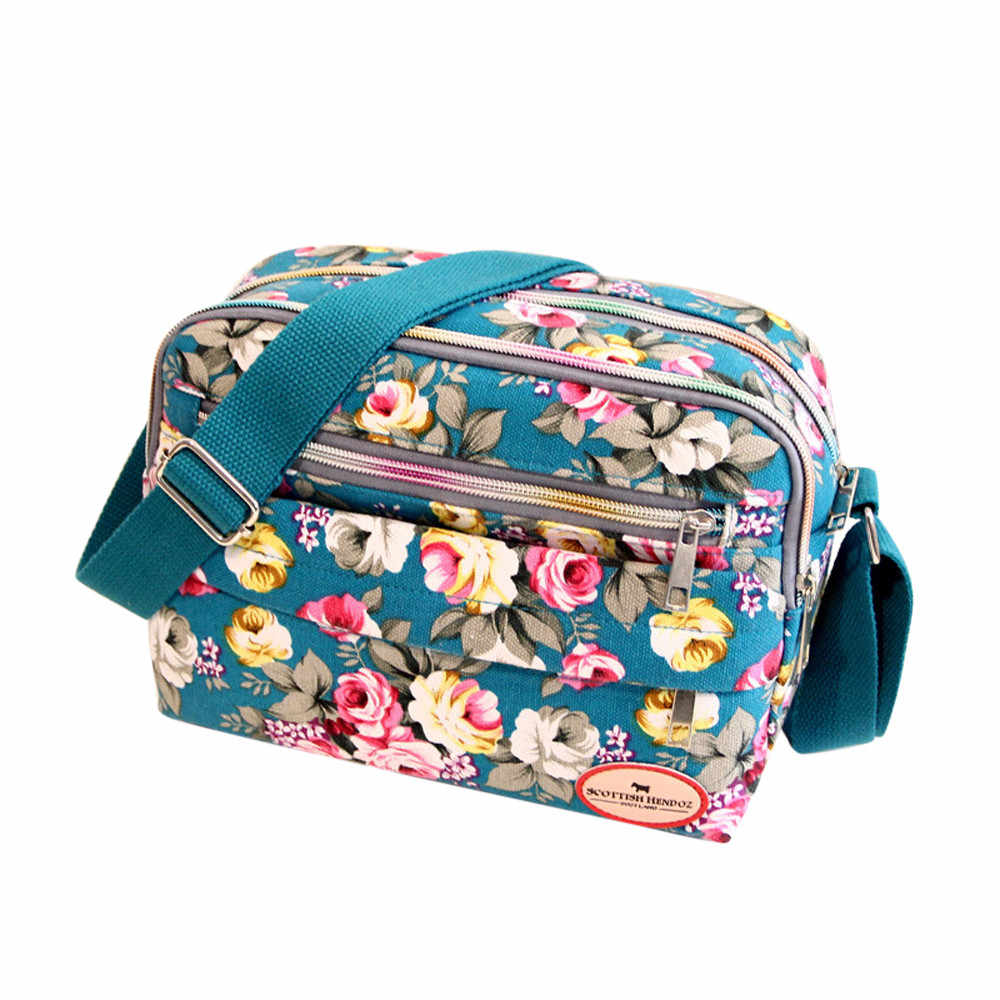 Холщовая женская маленькая сумка через плечо с цветочным принтом, женская сумка через плечо, роскошная женская сумка через плечо, дизайнерские сумки Bolsas Femininas3.8