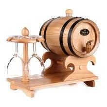 storage oak wine barrels. 1.5L Oak Barrel Red Wine Liquor Storing Bladder Gift Bar Hotel Sets Wooden Storage Barrels