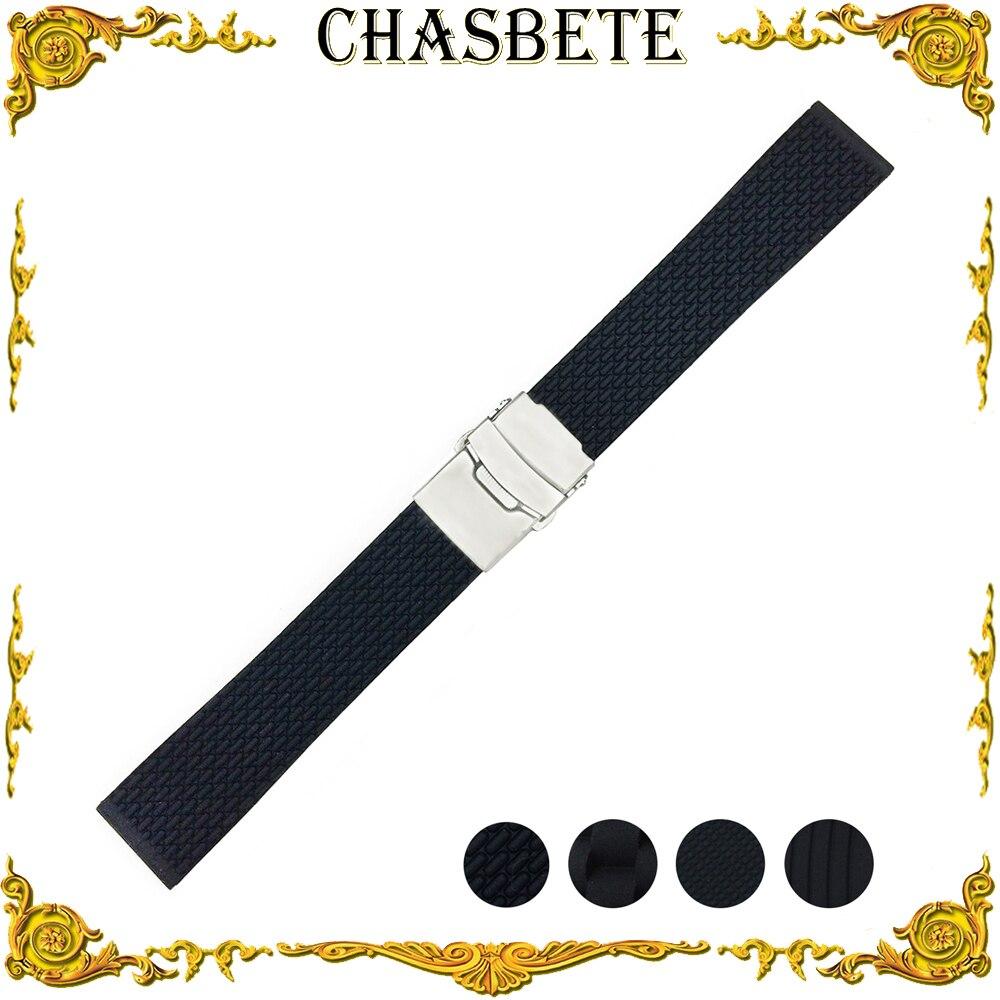 18mm 20mm 22mm 24mm Silicone Rubber Watch Band for Casio BEM 302 307 501 506 517 EF MTP Series Strap Wrist Loop Belt Bracelet часы casio bem 501l 506l 307 302 ef 503 efr 517 20mm