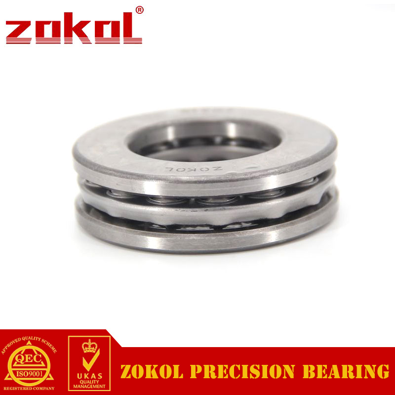 ZOKOL bearing 51338M Thrust Ball Bearing  8338H 190*320*105mm zokol bearing 51130 thrust ball bearing 8130 150 190 31mm