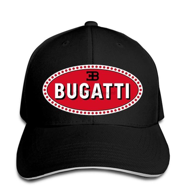 Bugatti Super Car Logo New Men Baseball Cap Snapback Cap Women Hat Peaked