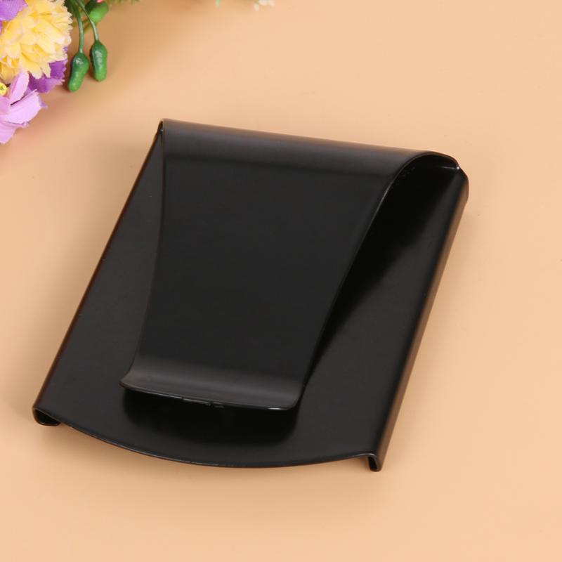 Portable Male Female Purses Money Clip Holders Credit Card Wallet Stainless Steel Alloy Purse Clip Card Clip Casual Paper Folder