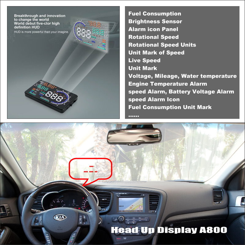 Car HUD Head Up Display For KIA K5 Optima 2010~2015 ...