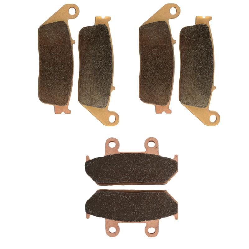 Motorcycle Parts Front & Rear Brake Pads Disc For SUZUKI AN650 K4-K9/L0 Burgman / AN 650 AK4-AK9/AL0 Burgman/ABS Executive 2004 2 front 1 rear sets brake pads fits suzuki burgman 650 an650 2003 2014 free shipping
